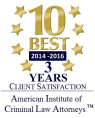 10 Best 2014-2016 3 Years Client Satisfaction